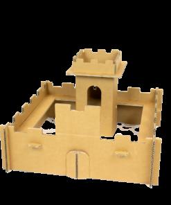Kartonnen Mini Ridder Burcht Speelgoed