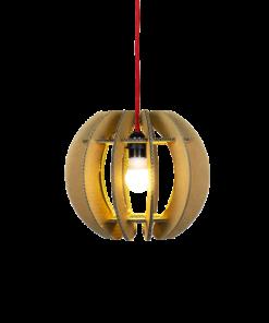 KarTent - Kartonnen Skanderborg hanglamp - Duurzaam Karton