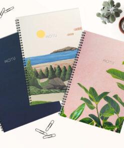 Duurzaam Notitieboek Sketchbook (A4) – Uitwisbaar Steenpapier Noteren