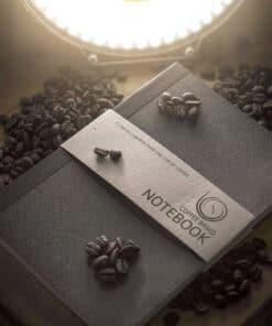 Coffee Based Notebook van koffiedik (zakelijk) Noteren